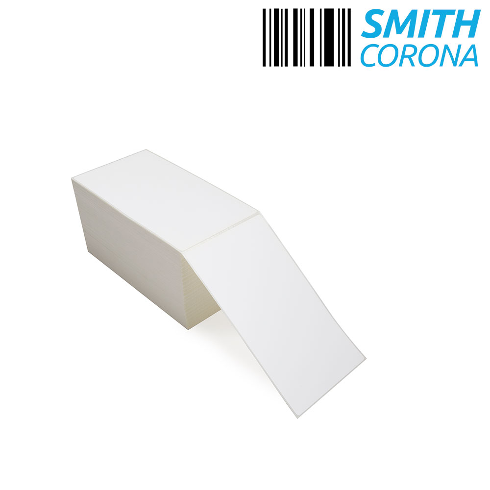"""4"""" x 7"""" Thermal Transfer Fanfold Labels-4"""