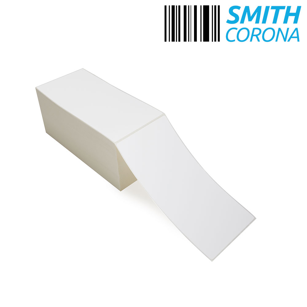 """4"""" x 8"""" Thermal Transfer Fanfold Labels-4"""