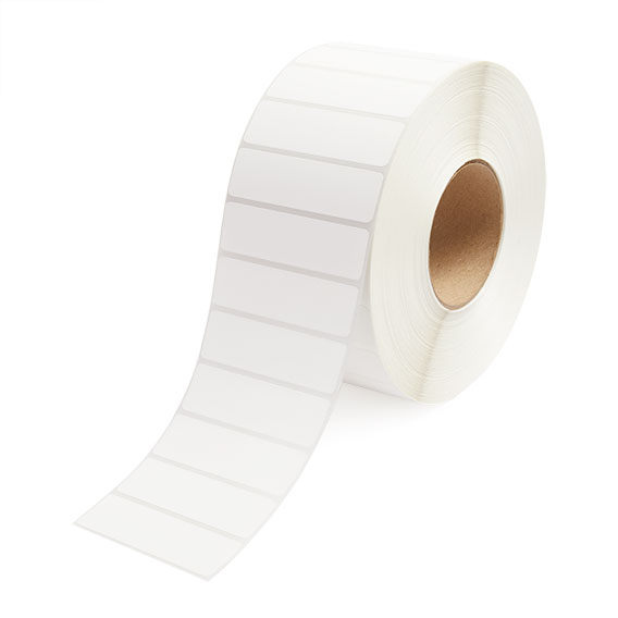 "3.5"" x 1"" Thermal Transfer Labels - 3"" Core-2"