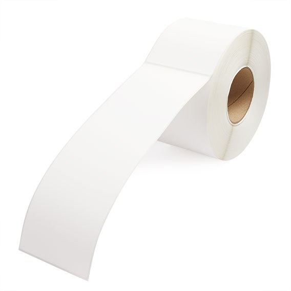 """4"""" x 12"""" Thermal Transfer Labels - 3"""" Core-2"""