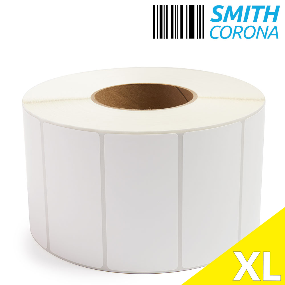 "4"" x 2"" (No Perf) Thermal Transfer Labels - 12"" OD-3"