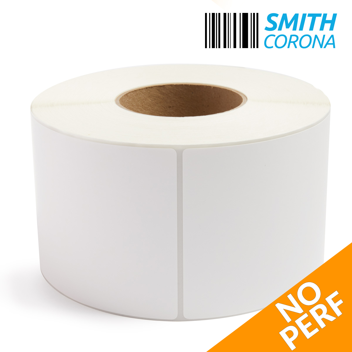 "4"" x 6"" (No Perf) Thermal Transfer Labels - 8"" OD-3"
