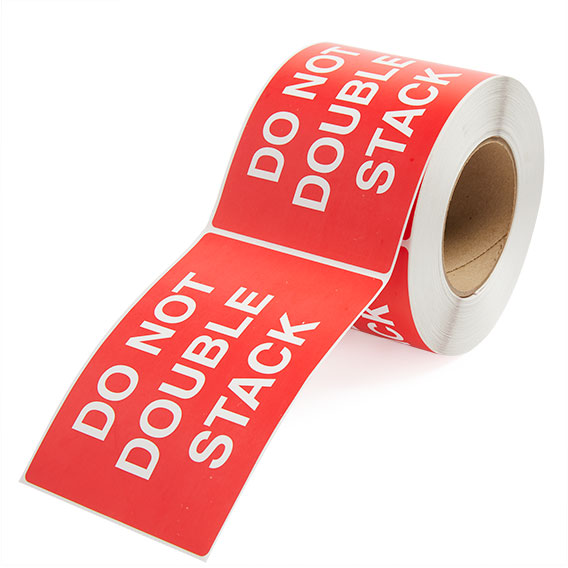 Do Not Double Stack - Preprinted Labels-2