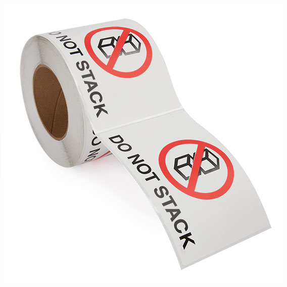 Do Not Stack - Preprinted Labels-2