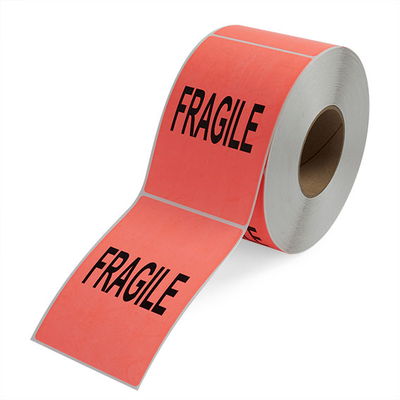 Fragile - Preprinted Labels-2