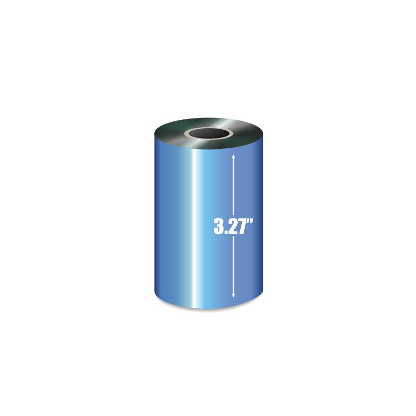 """3.27"""" X 1476' Wax Ribbon-2"""