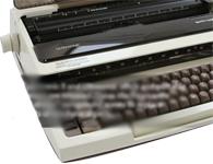 Smith Corona Typetronic II portable typewriter