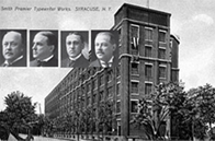 Vintage photo of Smith Premier Office
