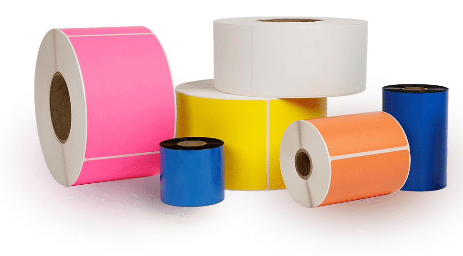 Blank Thermal Transfer Labels