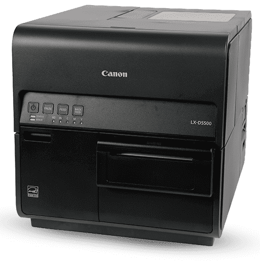 Canon Inkjet Labels