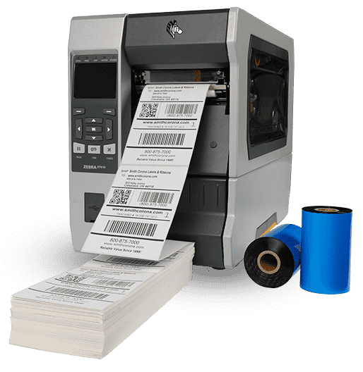 Fanfold Thermal Transfer Labels